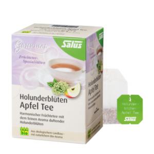 Salus Bio Gourmet Holunderblüten Apfel Tee 15 Filterbeutel