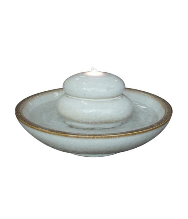 Dehner Keramik-Gartenbrunnen Maestro, ca. Ø50/H24 cm