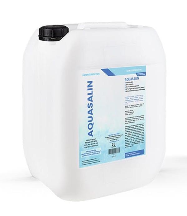 AQUASALIN Handdesinfektionsmittel 10 Liter, gebrauchsfertige Lösung