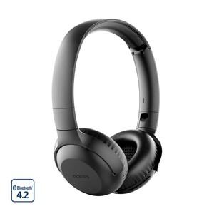 Bluetooth®-Kopfhörer TAUH202BK/00 • bis zu 15 h Akkulaufzeit • faltbar • integriertes Mikrofon • Multifunktionstaste