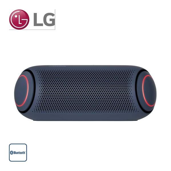 Bluetooth®-Lautsprecher PL5 • 20 Watt RMS • bis zu 18 h Akkulaufzeit • Schutz gegen Strahlwasser (IPX5) • Aux-In • Sprachsteuerung (Google, Siri) • Maße: H 7,9 x B 20,1 x T 7,9 cm
