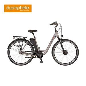 City-E-Bike Geniesser e2.3, 28er • Akku: AEG Sideclick, 36 Volt, 11,6 Ah • Rahmenhöhe ca. 49 cm • Shimano Nexus 7-Gang-Nabenschaltung • Preis für vormontierte Räder