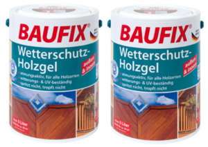 BAUFIX Wetterschutz-Holzgel pinie 2-er Set