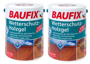 BAUFIX Wetterschutz-Holzgel kiefer 2-er Set