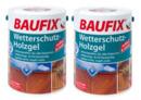 Bild 1 von BAUFIX Wetterschutz-Holzgel kastanie 2-er Set