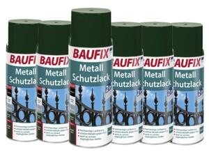 Baufix Metallschutzlack - Dunkelgrün 6-er Set