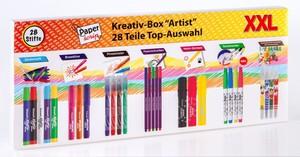 "Paper Scrip Kreativ-Box ""Artist"" - 28 tlg."
