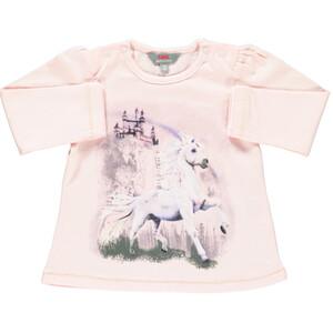 Mädchen Sweatshirt mit Pferdemotiv