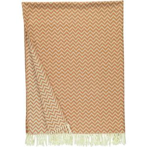 Fransendecke mit zeitlosem Muster 130x170cm