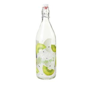 Bügelflasche Kiwi 1 Liter