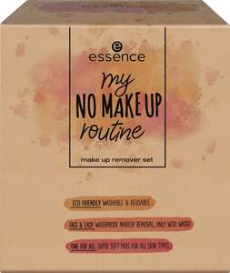 essence my no make up routine make up remover set 01 Wipe n' Swipe