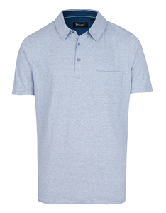 Bexleys man - Polo-Shirt fein gestreift