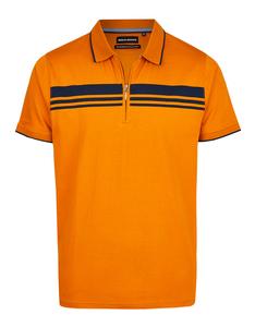 Bernd Berger - Polo-Shirt mit Kontraststreifen