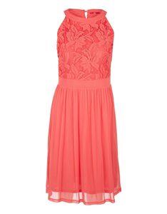 s. Oliver - feminines Kleid mit Spitze