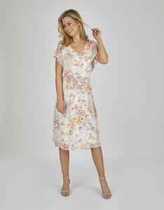 Bexleys woman - Chiffonkleid mit floralem Muster