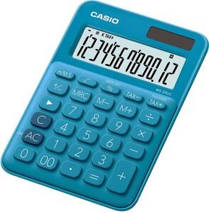 Casio MS-20UC-BU Tischrechner in zehn Farbvarianten (blau)