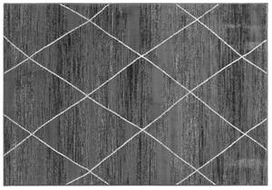 """Bella Casa XXL-Teppich """"Shiraz"""" - Streifen Weiß gekreuzt"""