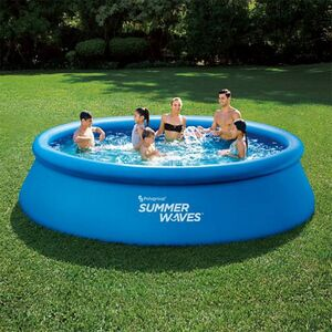 Summer Waves Quick-Up-Pool Ø 396 x 84 cm