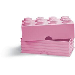 Lego Storage Brick Aufbewahrungsbox, lila