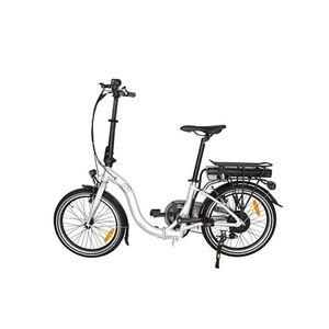 "Vecocraft Foldy 20"" E-bike silber-weiß"