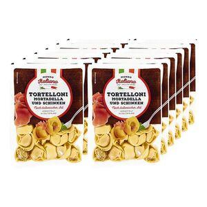 Mondo Italiano Tortelloni Mortadella und Schinken 250 g, 12er Pack