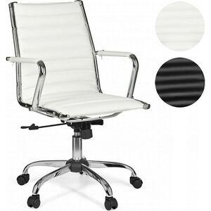 AMSTYLE Bürostuhl GENF 2 Bezug Kunstleder Schreibtischstuhl 110 kg Chefsessel höhenverstellbar