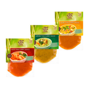 ASIA GREEN GARDEN  	   Thai Curry Sauce