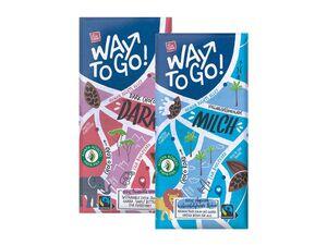 """""""Way to go""""-Tafelschokolade"""