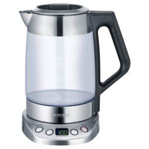 Severin Tee- und Wasserkocher 3479 mit Tee-Einsatz 3000W edelstahl-glas