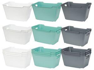 CASSETTI® Boxen, stapelbar, mit kratzfester Oberfläche, aus Kunststoff