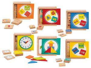PLAYTIVE® JUNIOR Lernboxen, mit Aufbewahrungsbox, ab 3,5 oder 6 Jahren