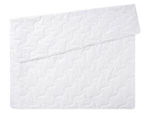 MERADISO® Sommer-Steppbett, 200 x 220 cm, leicht, Mikrofaser-Qualität, waschbarer Bezug