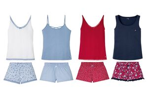 ESMARA® Lingerie Shorty Damen, Hose mit Gummizugbund, Zierschleife, aus reiner Baumwolle