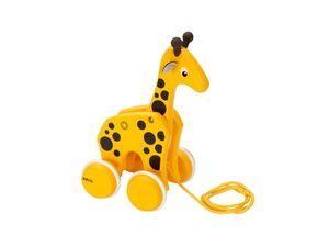 BRIO 30200 »Nachzieh-Giraffe«, klassisches Nachziehspielzeug, ab 1 Jahr