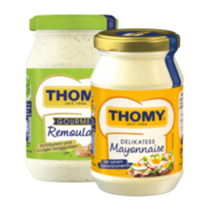 Thomy Mayonnaise oder Gourmet Remoulade