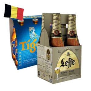 Leffe Blond/ Brune oder Tiger Beer