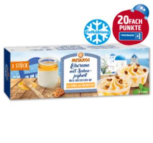 MITAKOS Eiscreme mit Sahnejoghurt