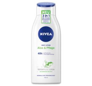 NIVEA Body Lotion Aloe & Pflege