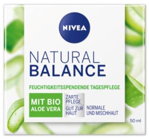 NIVEA Natural Balance feuchtigkeitsspendende Tagespflege