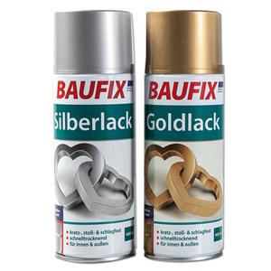 Baufix Silber-/ Goldlack
