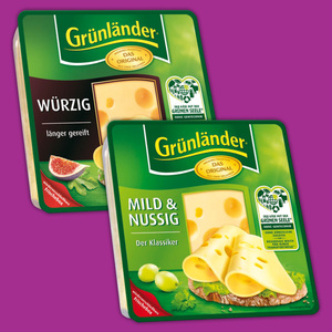 Grünländer Käse-Spezialitäten