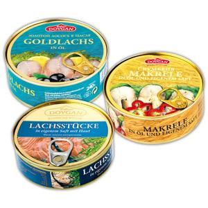 Dovgan Goldlachs / Makrele / Lachsstücke