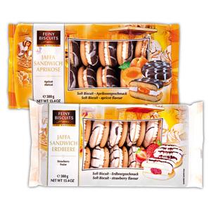 Feiny Biscuits Jaffa Sandwich Soft Biscuit