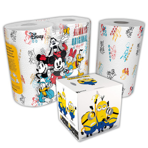 Disney Minions Küchenrolle / Taschentuchbox