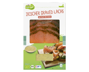 GUT bio Irischer Graved Lachs