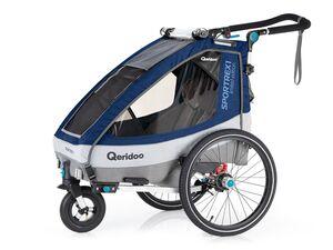 Qeridoo Fahrradanhänger Sportrex1 2020 Limited Edition