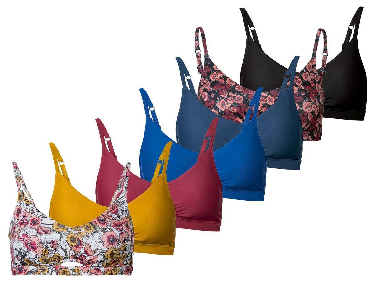 Bild 1 von ESMARA® Bikinioberteil Damen, kombinierbar, verstellbare Träger, herausnehmbare Cups