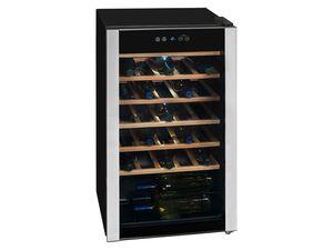 exquisit Weinkühlschrank »WS 134-3 EA«, Temperaturregelung, 93 L, EEK A