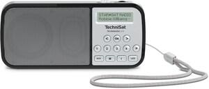 TechniRadio RDR Taschenradio silber