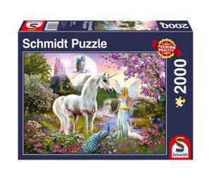 Schmidt Spiele Puzzle »Fee und Einhorn«